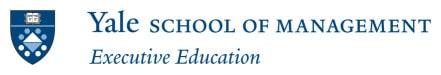 Yale Executive Education Logo