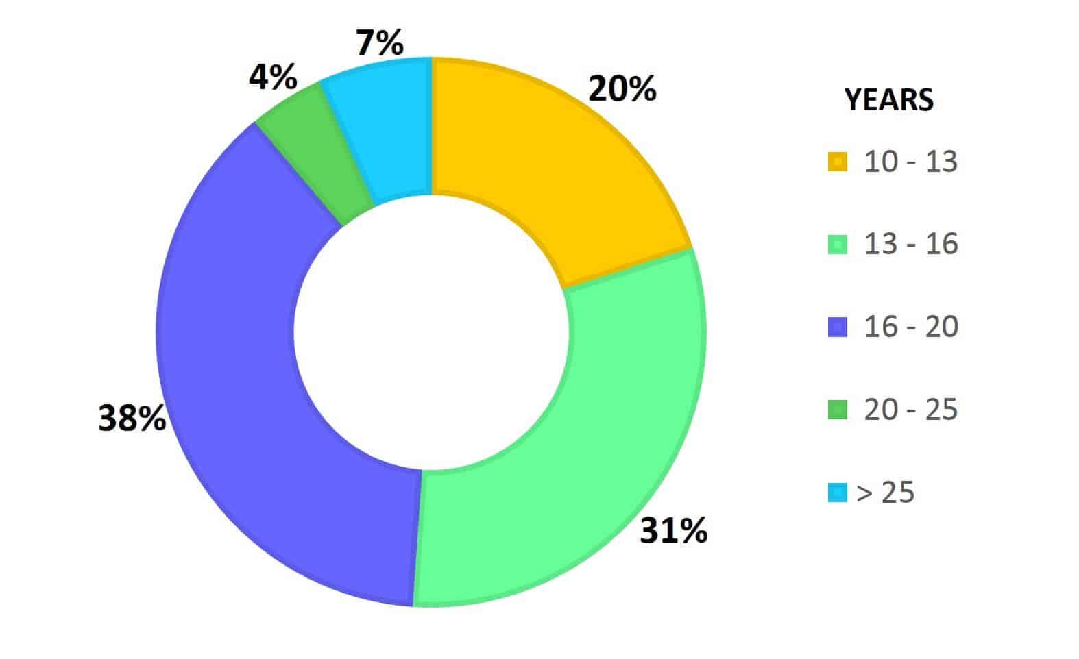 UCB - Work Experience Chart - Batch Profile
